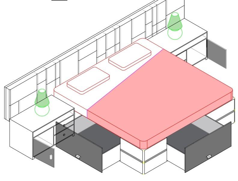 Bedroom Interiors – Mr Sharma