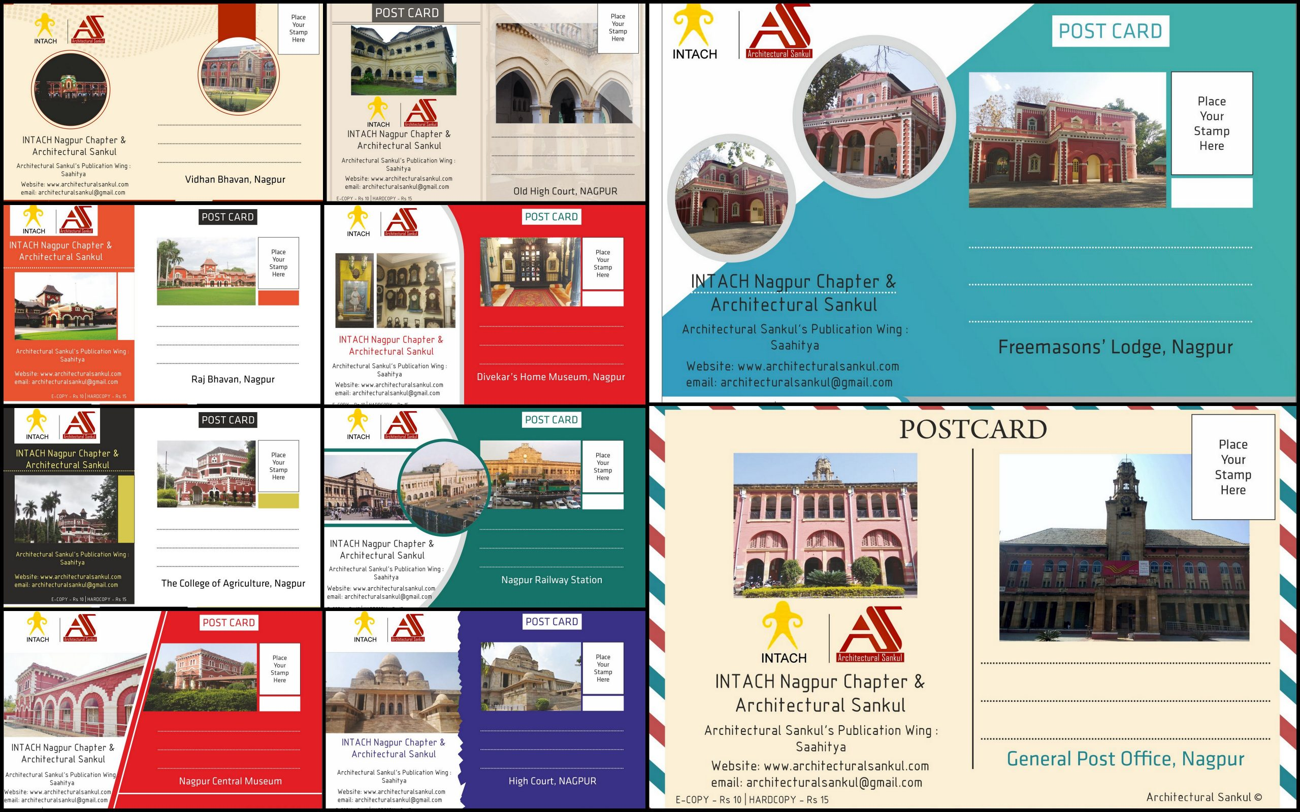 Colonial Postcards